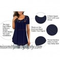 Long Sleeve T Shirt Women Pleated Casual Tops Fit Flare Tunic Blouse Curve Hemline